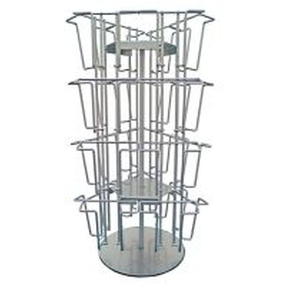 Wireholder Spin Table, 24 x A6/M65