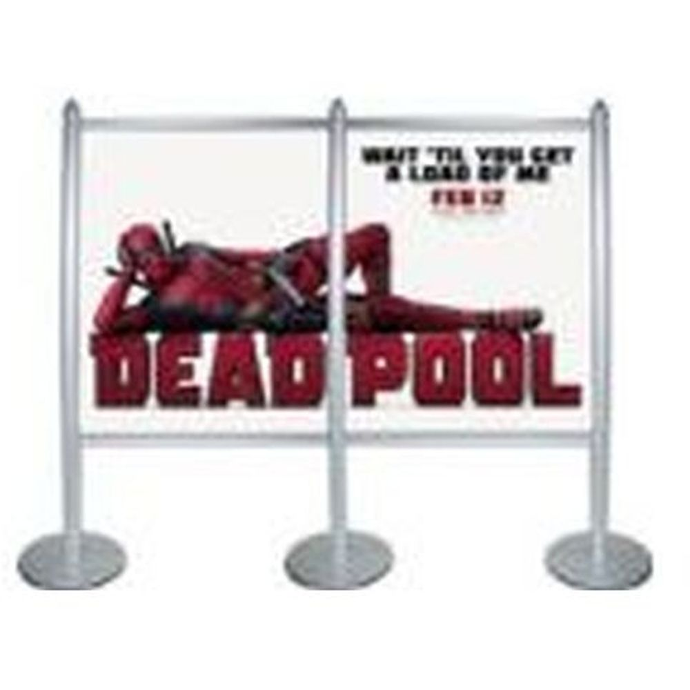 Multi Stand Banner Wall Double