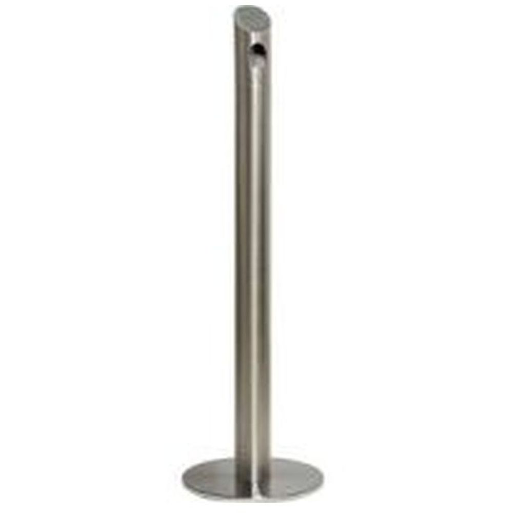 Cigarette Bin Pole - stainless steel