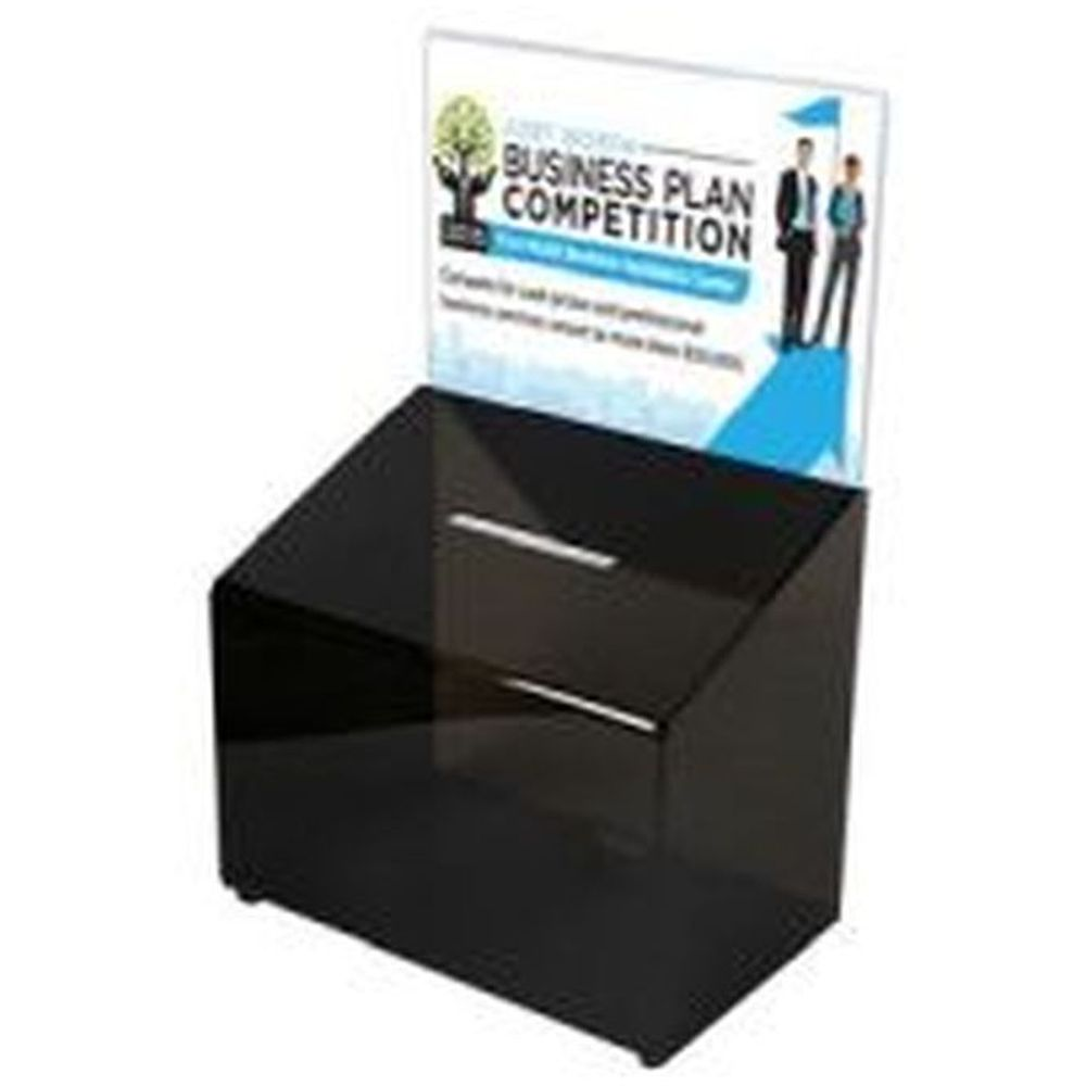 Tip Box Black with Info