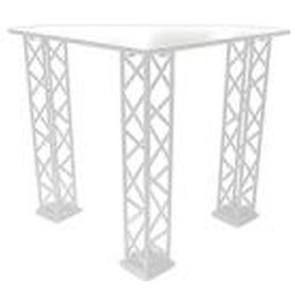 Crown Truss Counter Triangle - White